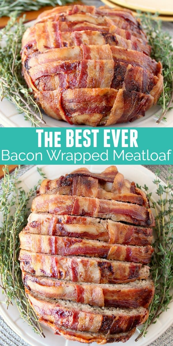 Bacon Wrapped Meatloaf Recipe {with Video!} - WhitneyBond.com