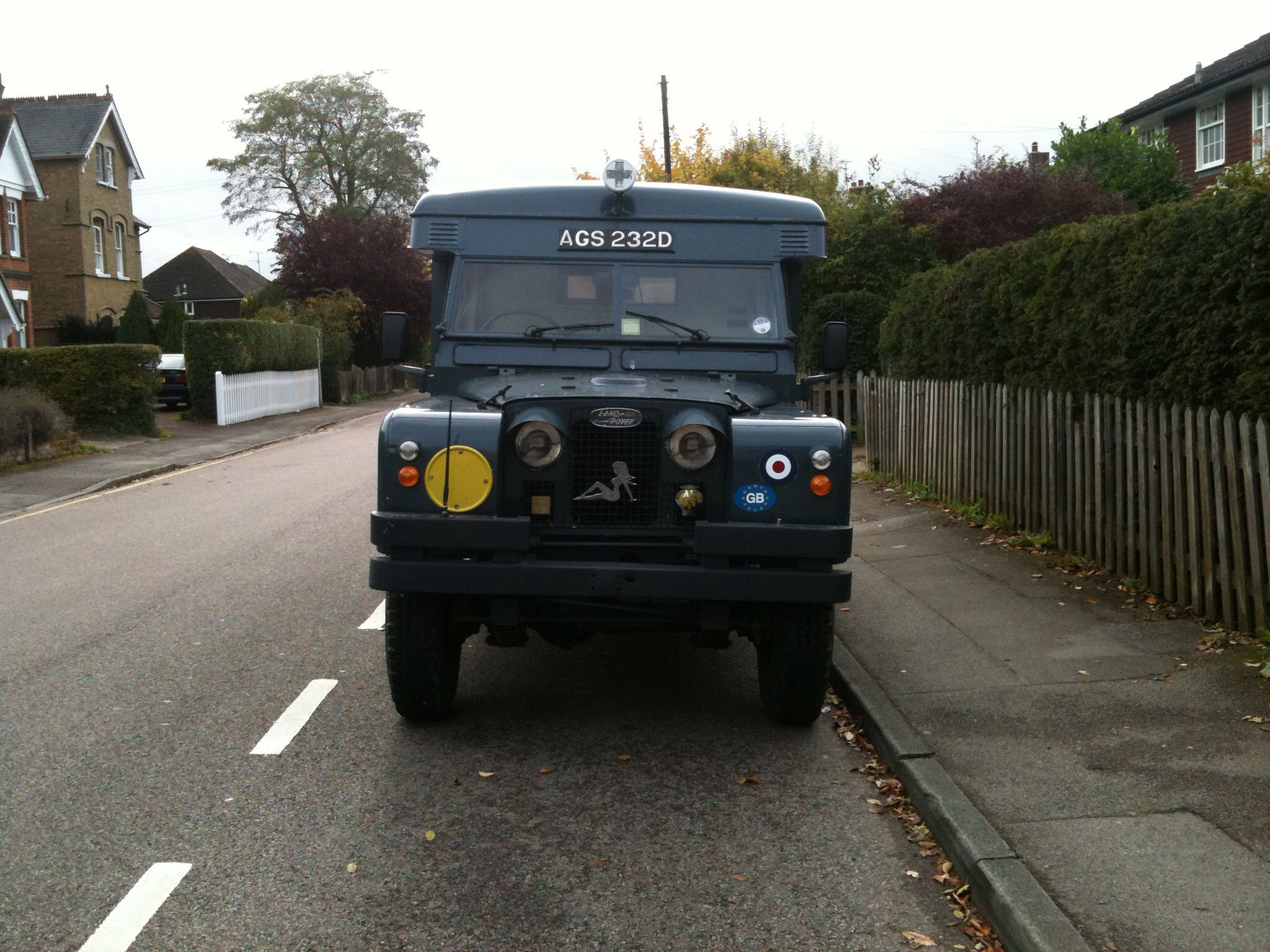 1966 Series 2 Land Rover Ambulance. 'Agnes' Oh I miss her:(