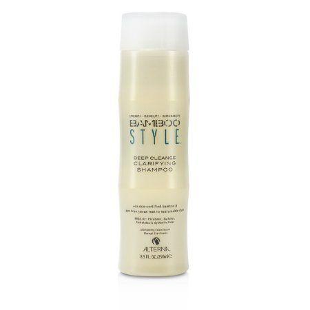 Alterna Alterna Bamboo Style Bamboo Style Deep Cleanse Clarifying Shampoo 8 5oz Walmart Com Clarifying Shampoo Shampoo Hair Help