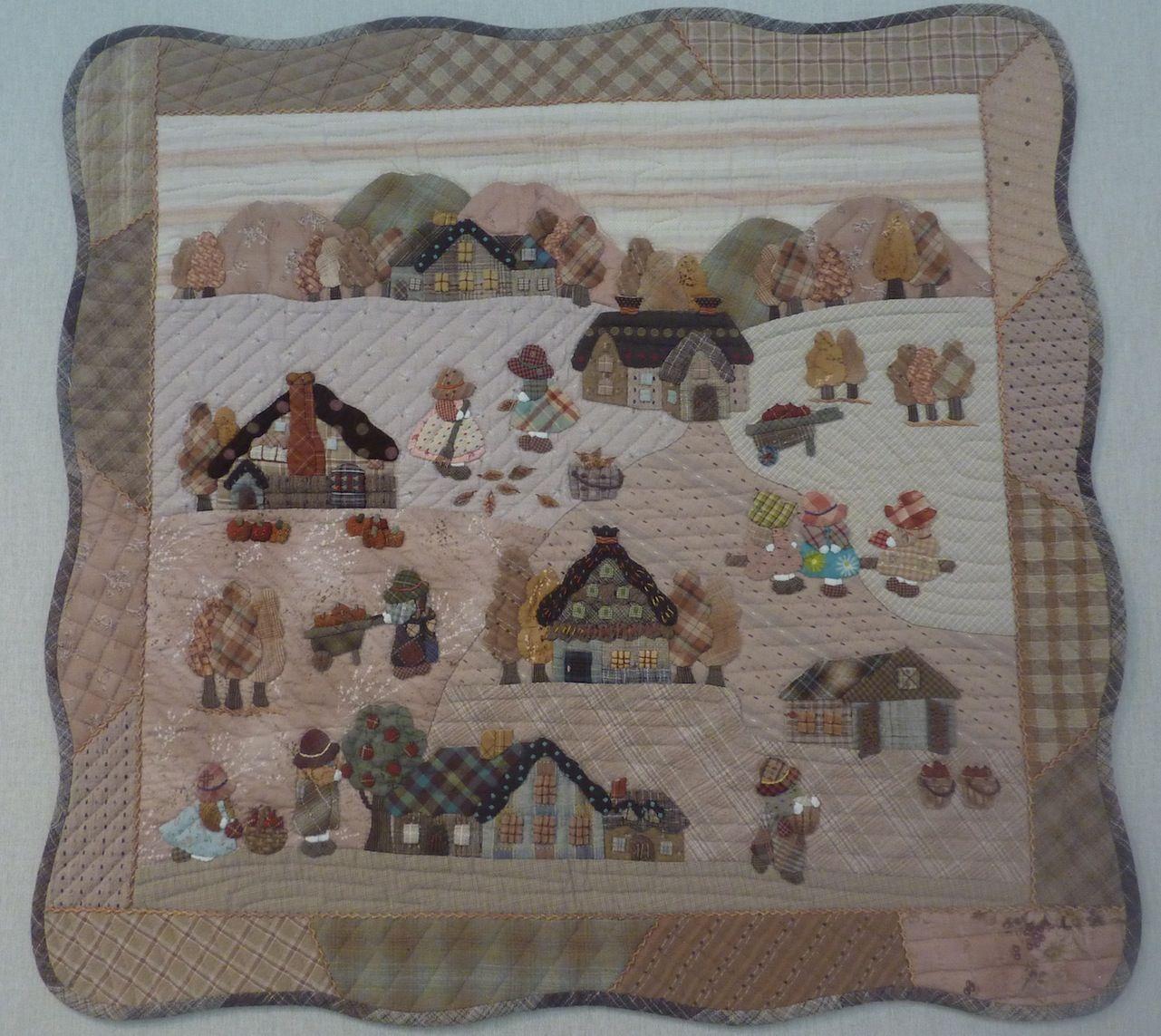 Image result for reiko kato quilt patterns sun bonnet - Reiko kato patchwork ...