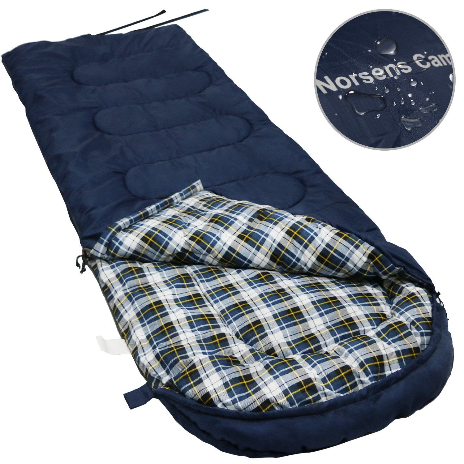 bb646df40cdf NORSENS Camping Backpacking Hiking Sleeping Bag 0 Celsius Degree ...
