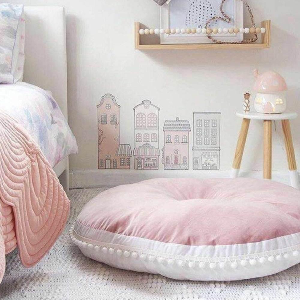 Runda Baby Large Cushion For Floor Kids Floor Cushions Bed Tent Floor Cushions