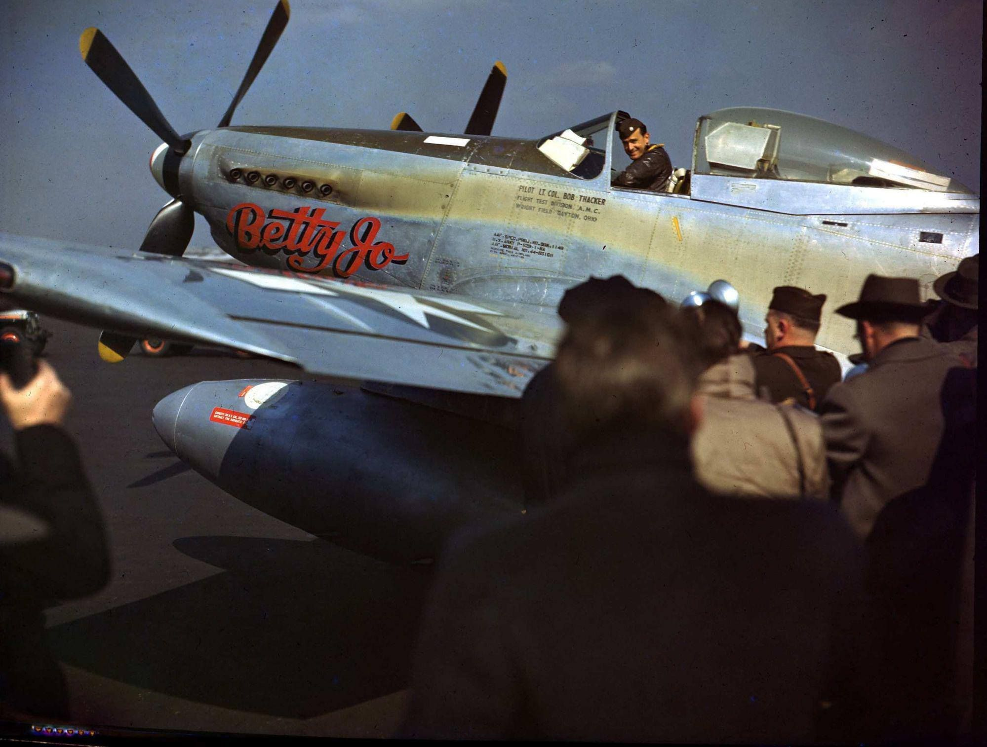North american p82 twin mustang 1947 photo by rudy