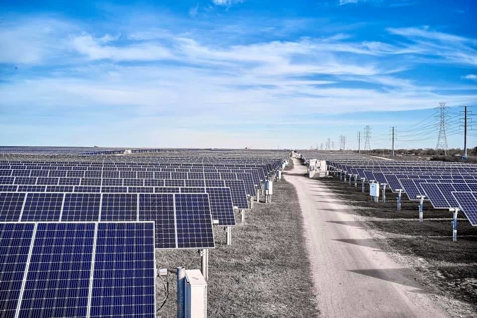 Six Year Old Solar Power Plant Partially Repowered With New Trackers And Bifacial Solar Modules Oci Solar Has Upgr Solar Power Plant Solar Module Solar Power