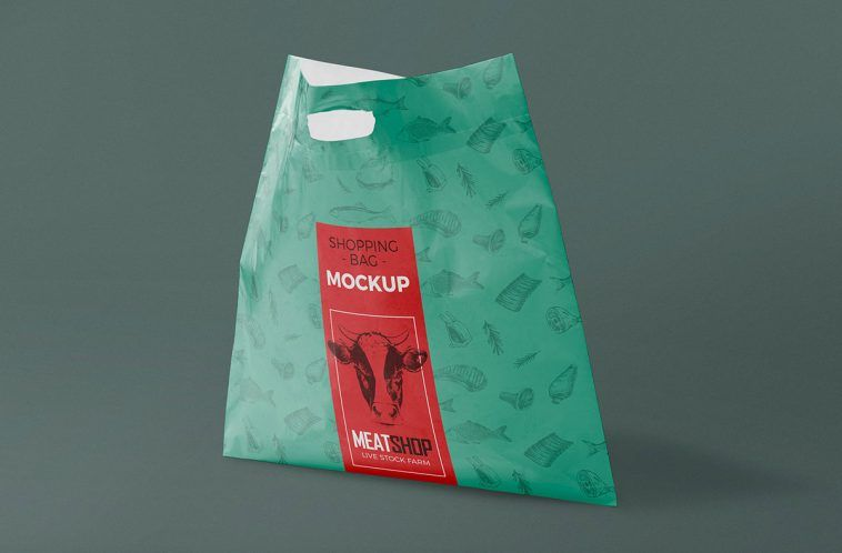 Download Standing Plastic Bag Mockup Free Package Mockups Bag Mockup Free Packaging Mockup Packaging Mockup