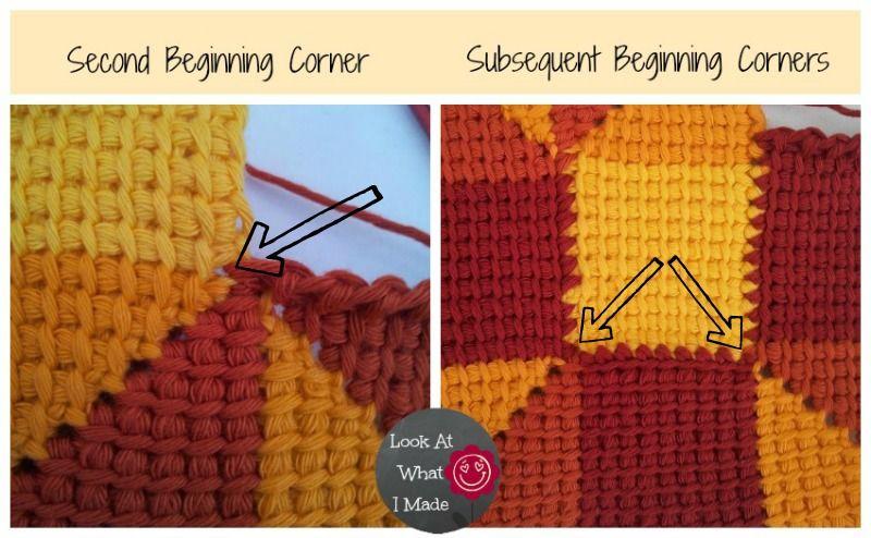 Tunisian Crochet Ten Stitch Blanket Pattern | Tunisiano | Pinterest ...