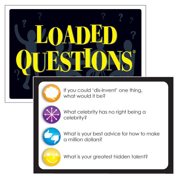 Loaded Questions -- Our Bestselling Game Tests Players On