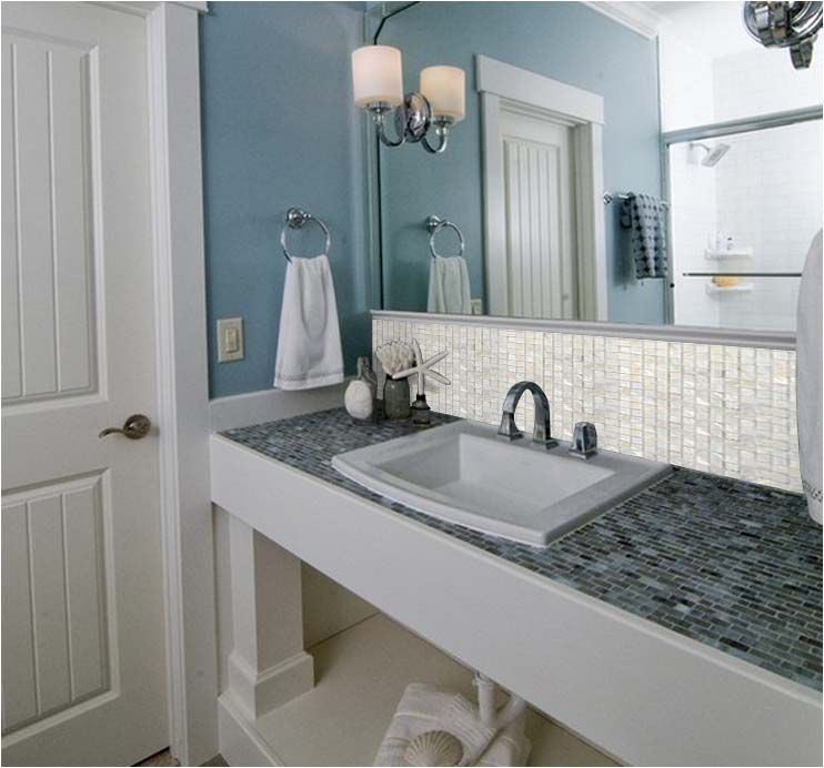 Idea Of Using Tiles For The Counter Top Smooth Surface Though