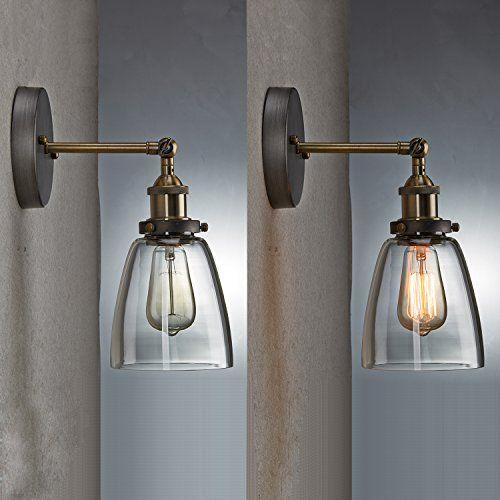 45 ecopower industrial edison simplicity mini glass wall sconces ecopower industrial edison simplicity mini glass wall sconces antique amazon aloadofball Images