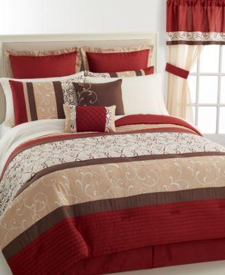 Palladium 24 Piece California King Comforter Set Macys Home
