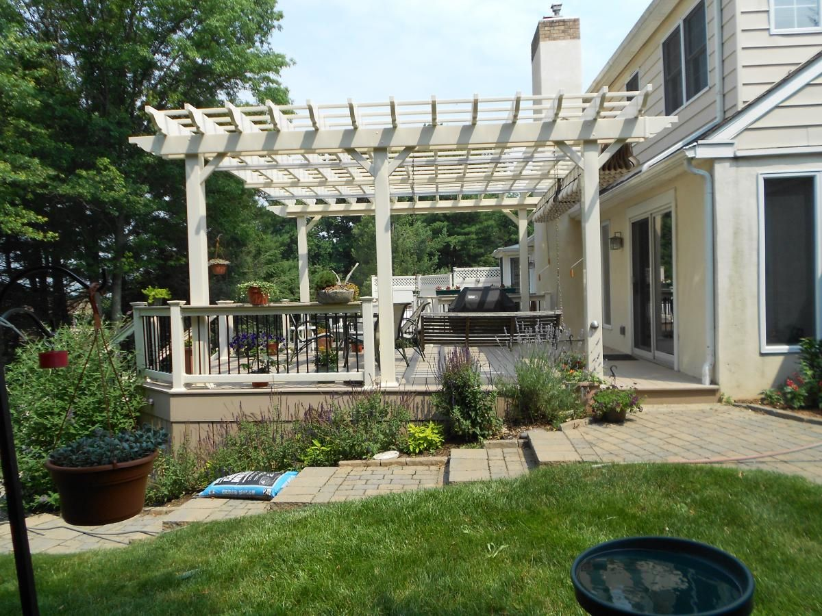 Pictures Of Pergolas Attached To The House On The Underside Of Your Pergola Where You Manually Pull The Canopy I Deck With Pergola Pergola Pergola Canopy
