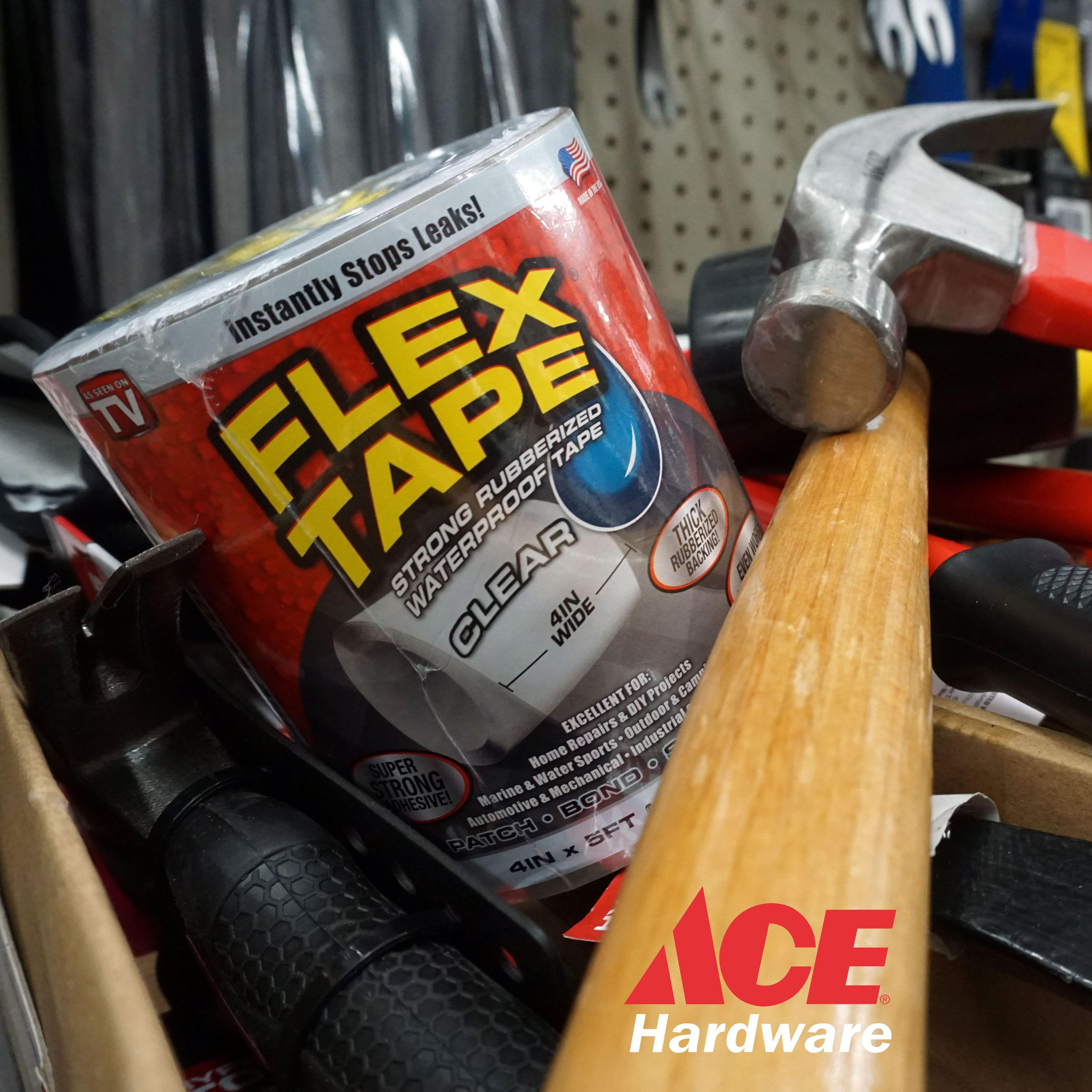 - Flex Tape Waterproof Tape, Ace Hardware, Flex