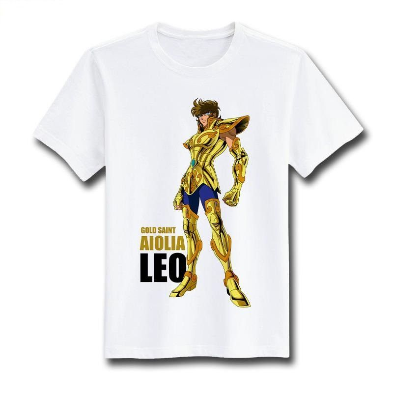 Saint Seiya Short Sleeve Anime T-Shirt V6                                                                                                                                                                                 Más