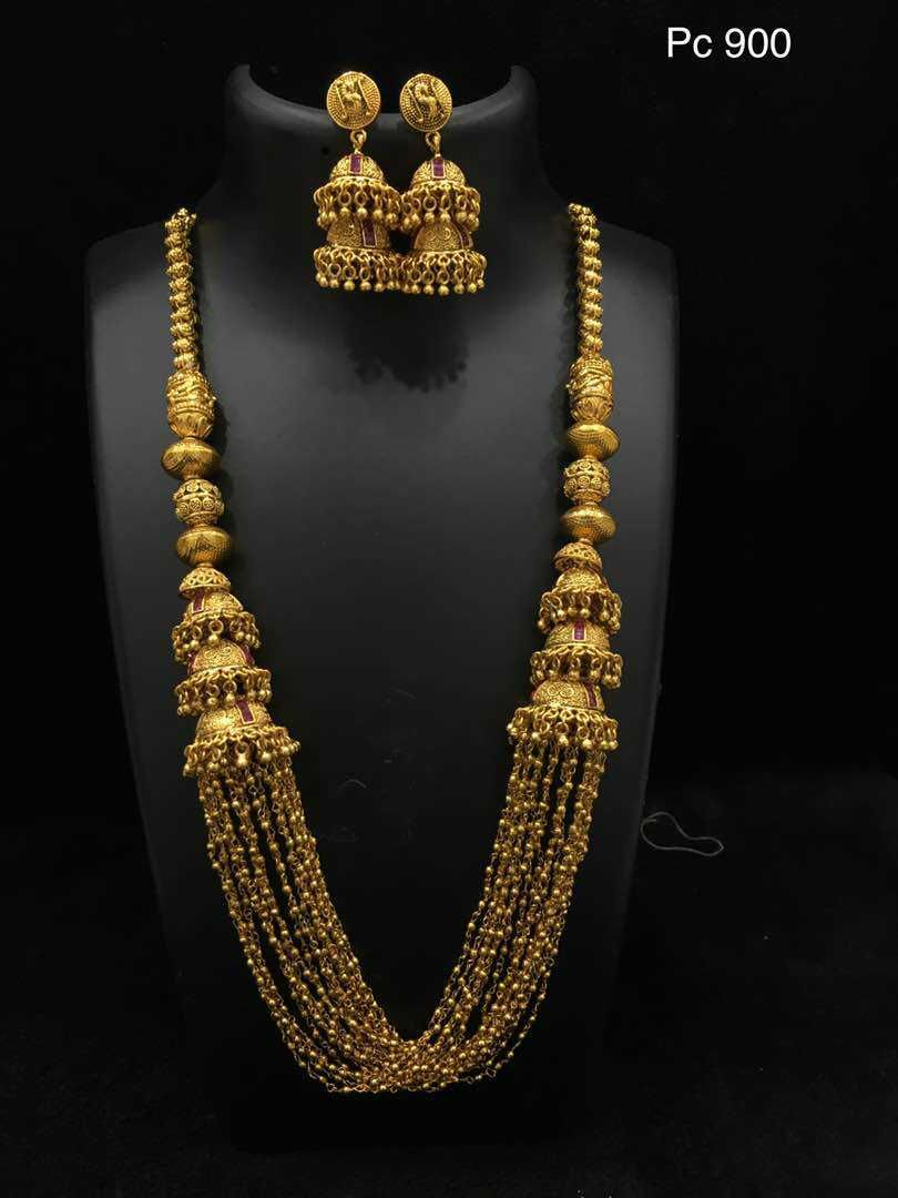 One Gram Gold Antique Jewellery Buy Online One Gram Gold City Fashions Gold Necklace Designs Online Gold Jewellery Fashion Wedding Jewelry