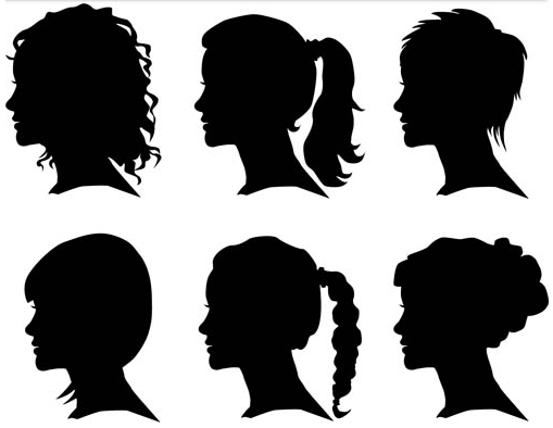 Womens Shilouette Face Man And Woman Silhouette Woman Silhouette Woman Face Silhouette