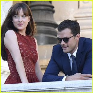 Fifty Shades' E.L. James Shares Behind-the-Scenes Photos From Set!   fifty shades of grey set photos 14 - Photo