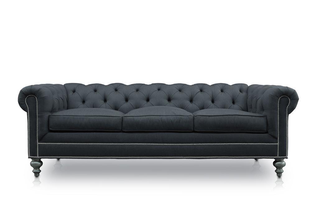 The Fitzgerald Custom Classic Chesterfield Sofas More Chesterfield Style Sofa Sofa Chesterfield Sofa