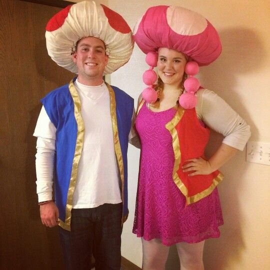 Toad and toadette do it yourself costume halloween pinterest toad and toadette do it yourself costume solutioingenieria Choice Image