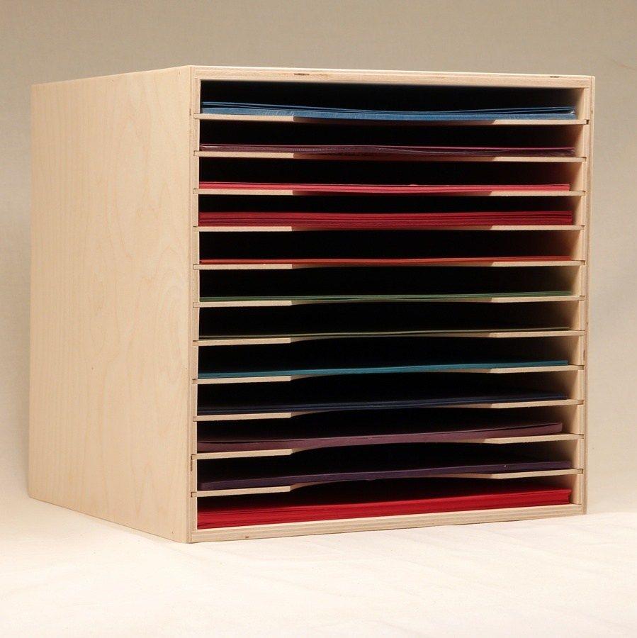 Scrapbooking: Horizontal 12x12 Paper Storage Solutions ...