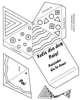 20 Cartoes Para Dia Dos Pais Prontos Para Imprimir Modelos De