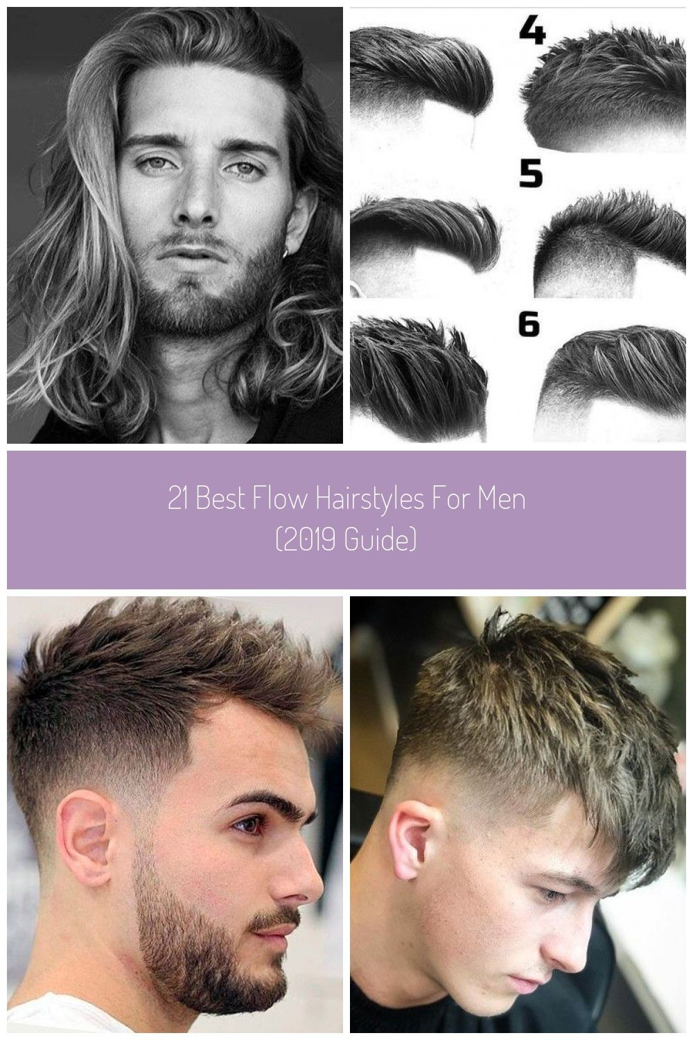 Long Flowing Hair For Men Best Flow Hairstyles For Men Short Medium And Long Men S Hair Flow Wing Mens Hairstyles Long Hair Styles Men Mens Haircuts Fade