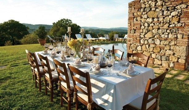 Hotel Castello di Casole: Dine on wood-fired pizzas in Pazzia Pizzeria or seafood dishes in romantic Ristorane Tosca.