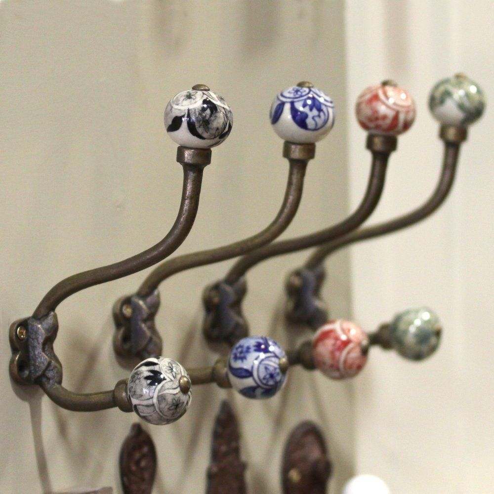 Unique Robe Hooks tembo ceramic coat hook https://www.willowandstone.co.uk/household