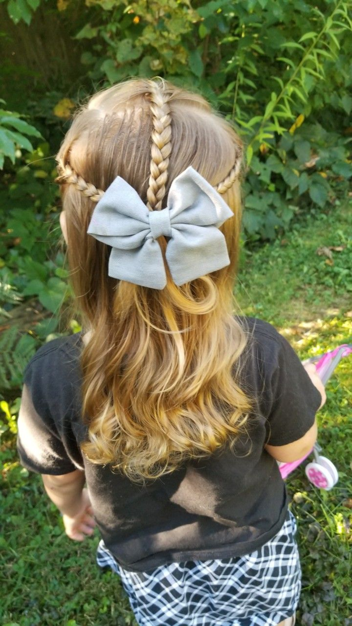 little girl hairstyles with bows