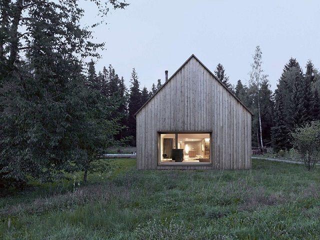 Wohntrends Haus am Moor von Bernardo Bader Architekten Haus
