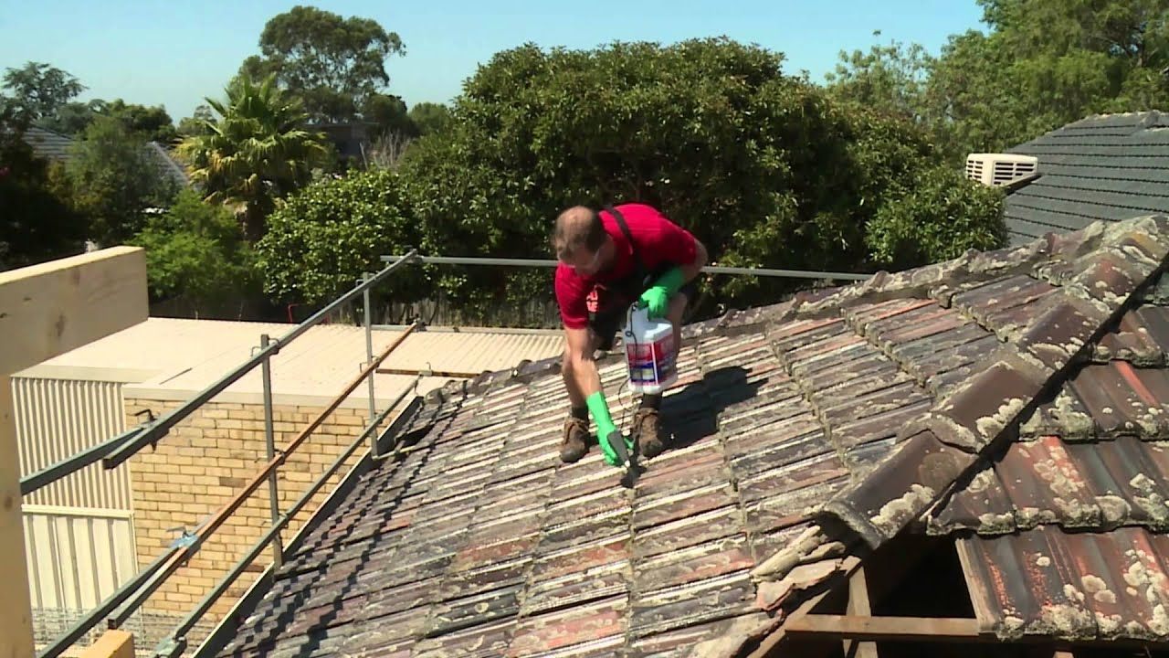 How To Clean Roof Tiles DIY At Bunnings Roof cleaning