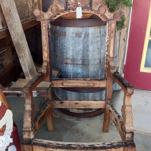 Ornate, vintage, wood chair frame.  Fab Find by #Lifestyle Design #Antique #Vintage #Furniture