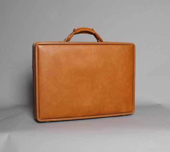Vintage HARTMANN Belting Leather BRIEFCASE | Tough Luck Vintage ...