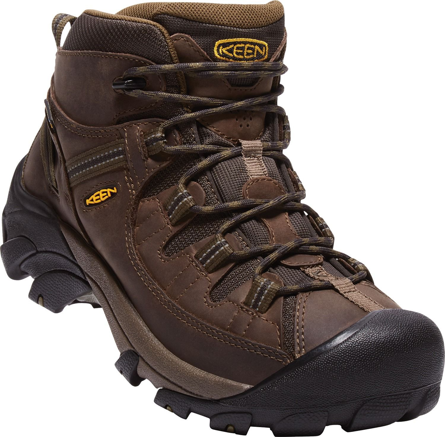 f6074ec1cd2 KEEN Men s Targhee II Mid Waterproof Hiking Boots in 2019