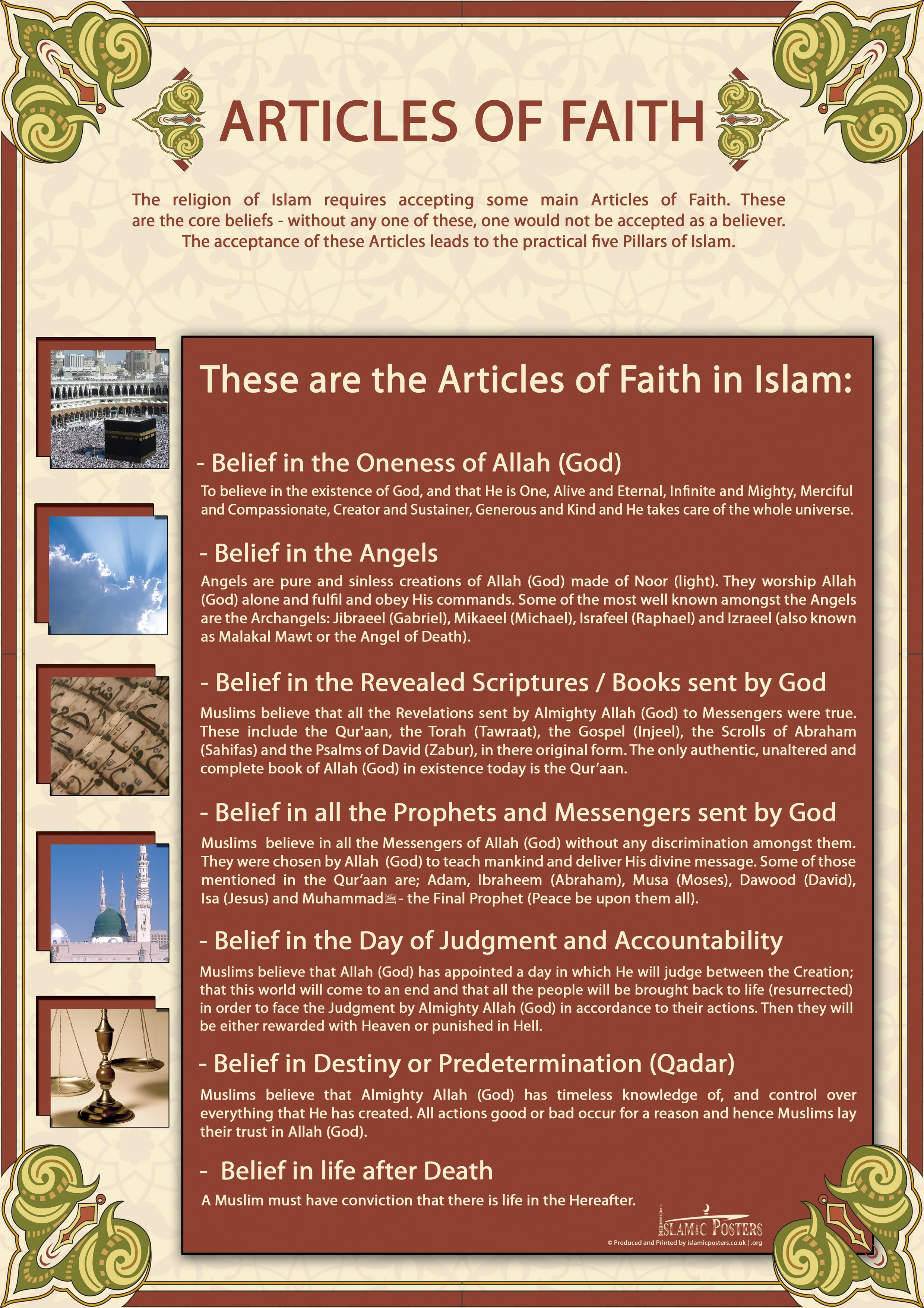 Download Islamic Posters: Prayer, Guidance, Alcohol, Music, Drugs ...