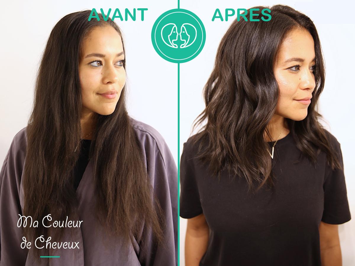 Avant Apres Coupe Wavy Cheveux Asiatiques Coupe De Cheveux Asiatique Cheveux Avant Apres Cheveux Asiatique