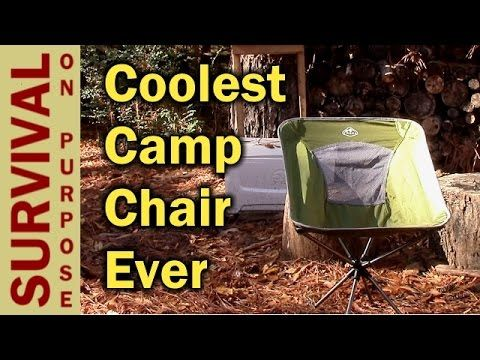 Trekk Swivel Camping Chair - Best Folding Camp Chair