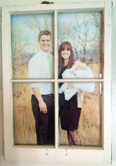 vintage window pane picture frame - Window Pane Picture Frame