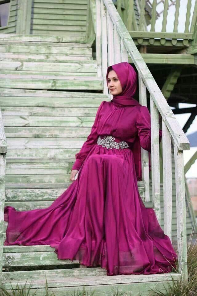 ♥ Muslimah fashion & hijab style | tesettür giyim | Pinterest | Ropa