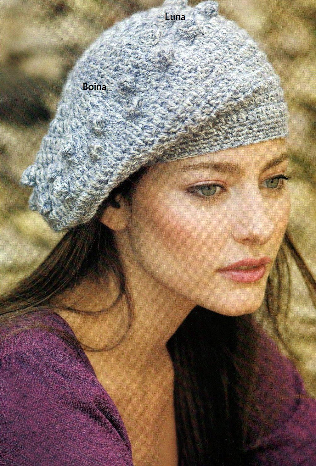 My Crochet , Mis Tejidos: Boina y su patron a seguir. | Gorros ...
