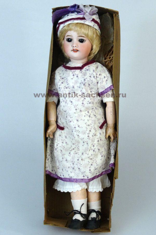 Антикварная французская кукла 60 молда, примерный год ...