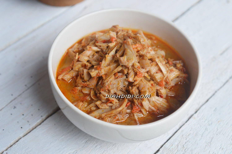 Resep Cake Pisang Diah Didi: Diah Didi's Kitchen: Sayur Nangka Pedas