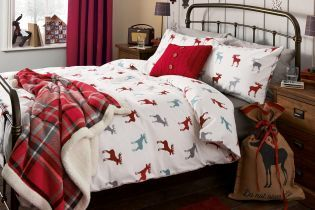 Moose Brushed Cotton Double Duvet Cover