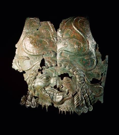 Greek breastplate decorated with head of Medusa, Greece. 5th-4th century BCE