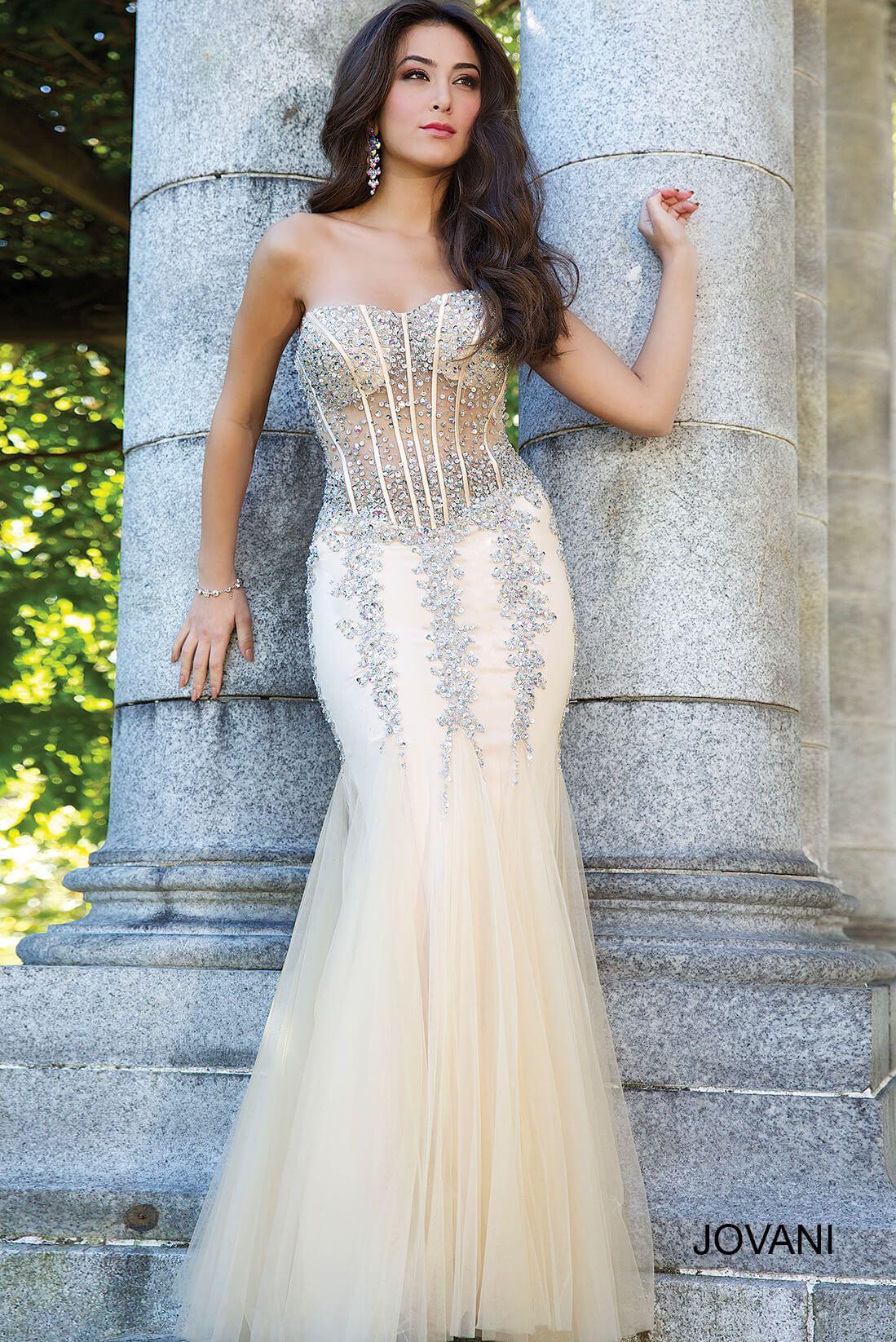 Sherri Hill 50843 - High Neck Halter Ball Gown Prom Dress