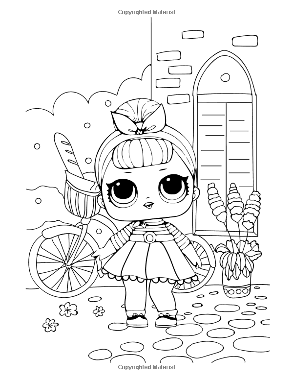 L O L Surprise Coloring Book Great Coloring Book For Kids Perfect For Children Ages 4 12 Ama Cute Coloring Pages Unicorn Coloring Pages Cool Coloring Pages