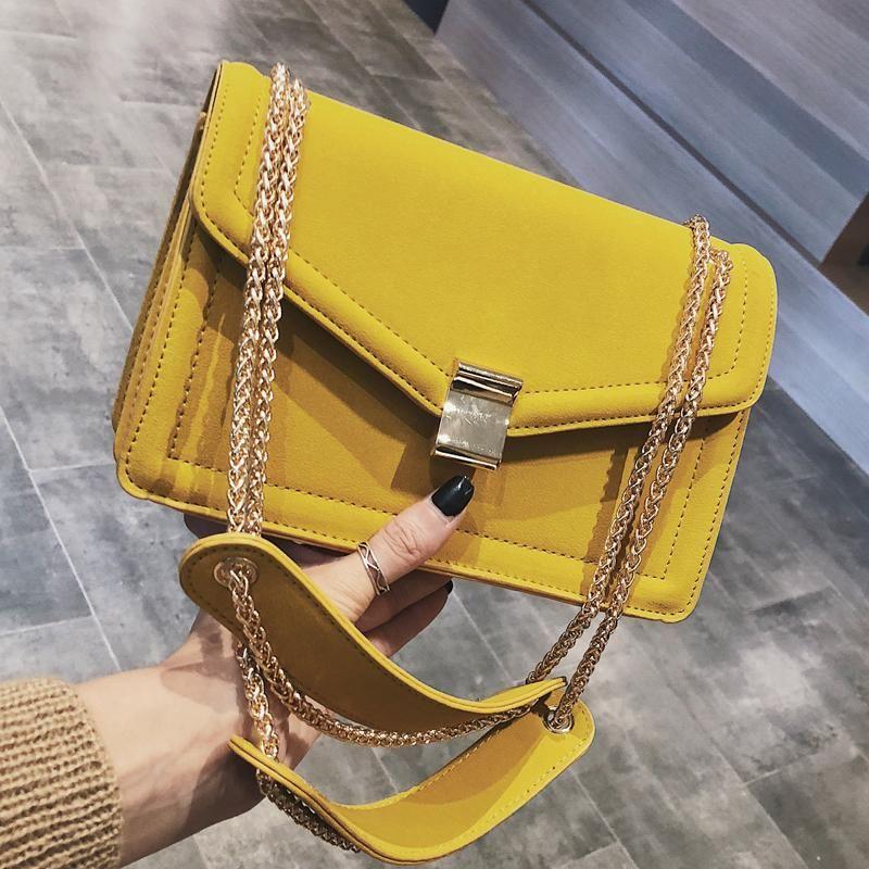 Retro Fashion Female Square Bag 2018 New High quality Matte PU leather –  KOREAIDOLFEVER 769fd296e2b9