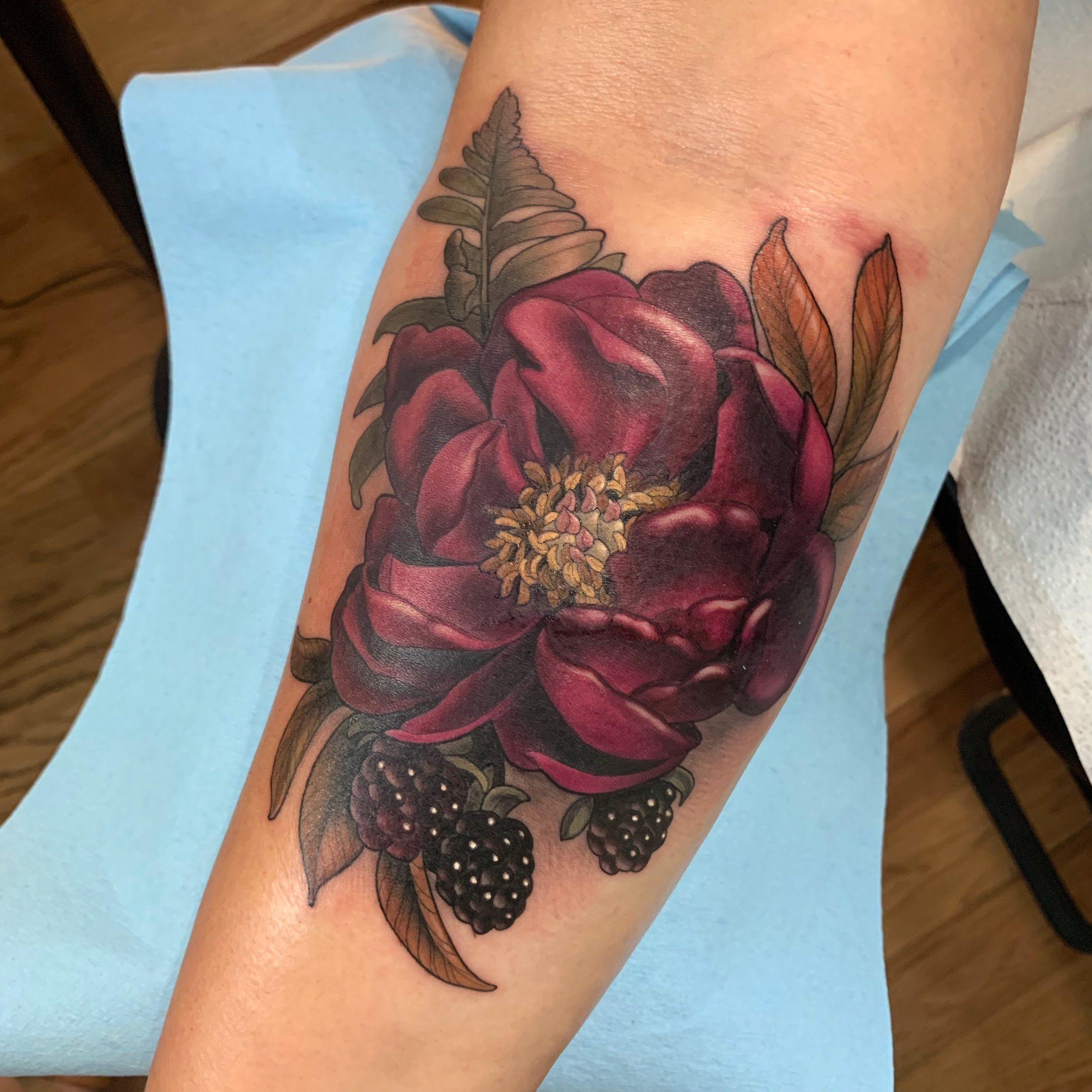 Gallery makkala rose scar cover up tattoo coverup