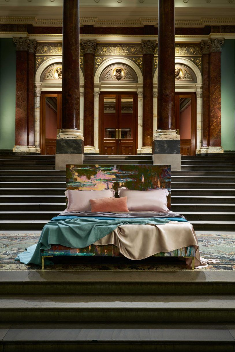 Savoir Beds National Gallery Launch Range Inspired By Famous