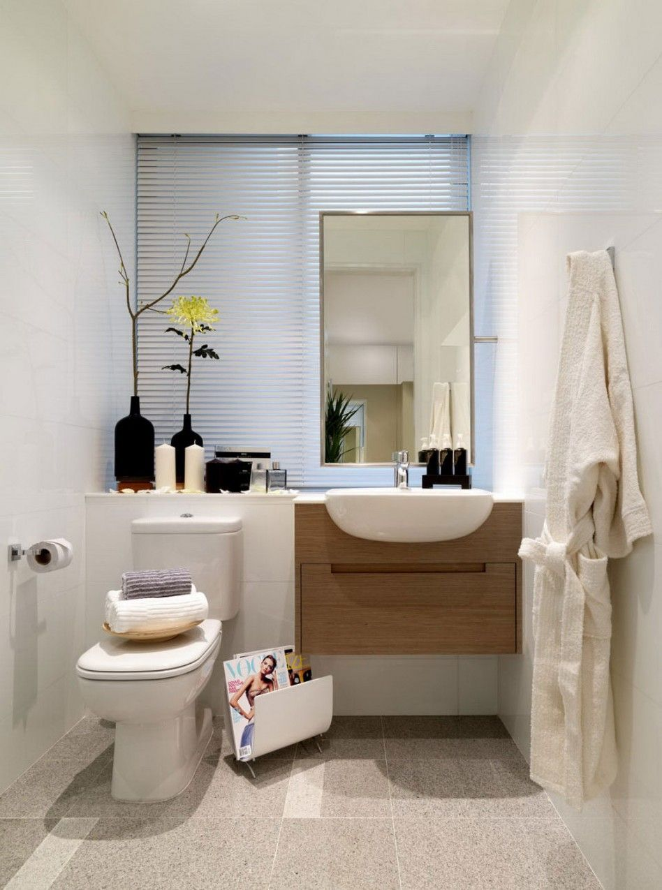 Bathroom Comely Designs Ideas For Nice Small Bathrooms Using A Rectangular Mirror Bathroom Interior Design Modern Bathroom Decor Bathroom Design Small Modern