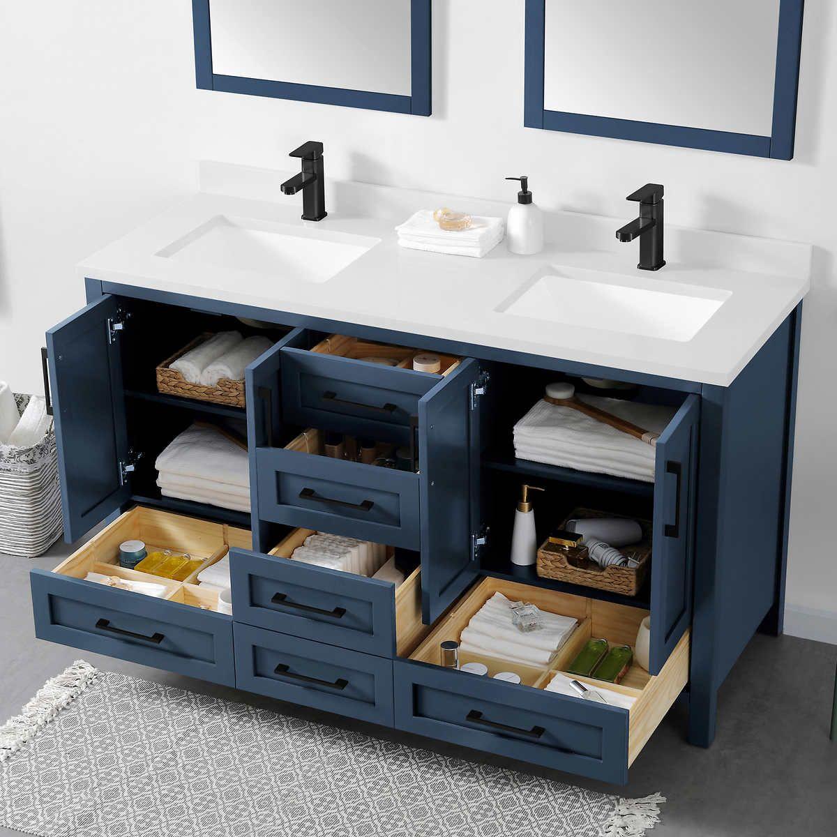 Ove Decors Lourdes 60 Bath Vanity In 2021 Custom Bathroom Vanity Full Bathroom Remodel Master Bathroom Vanity